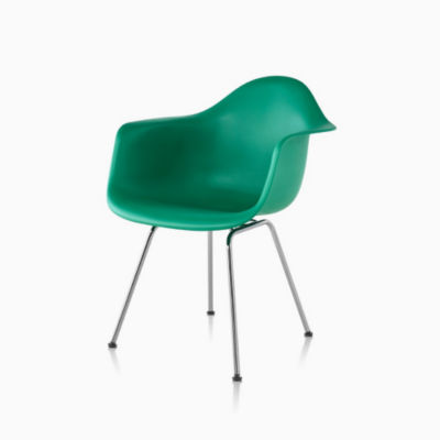 Eames Molded Plastic Armchair 4-Leg Base