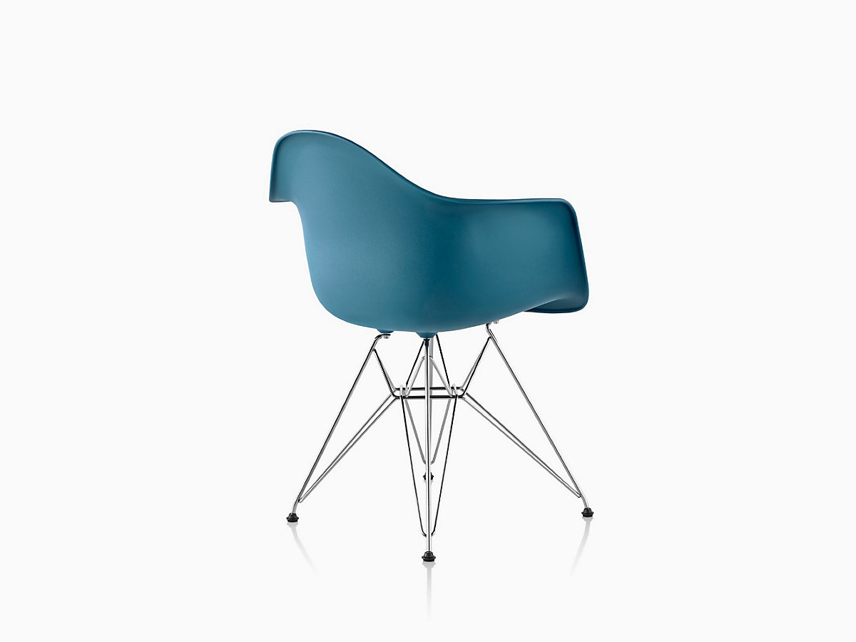 Eames  Molded Plastic Wire Base Armchair  DAR. Eames Molded Plastic Armchair Wire Base   Herman Miller