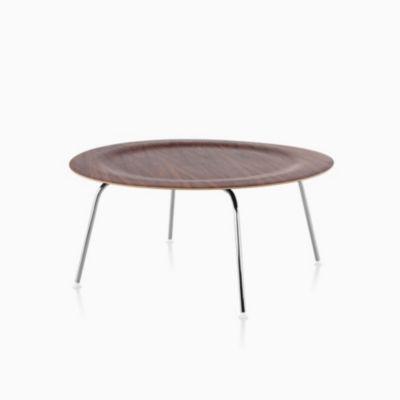 Eames Molded Plywood Coffee Table Metal Base Herman Miller