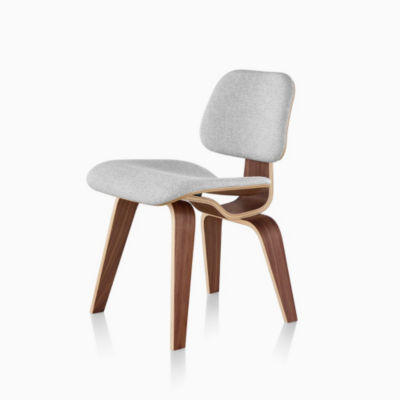 Eames® Upholstered Molded Plywood Dining Chair (DCW)