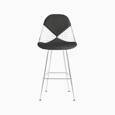 Eames® Wire Barstool with Bikini Pad (DKHBX.2)