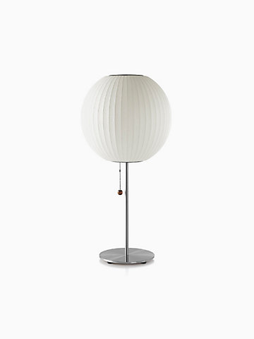 Nelson bubble lamps nelson ball table lamp aloadofball Image collections