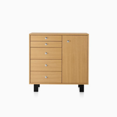 Nelson Basic Cabinet Large 34x40, 5 Drawer