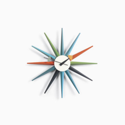 Nelson™ Sunburst Clock