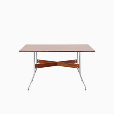Nelson Swag Leg Dining Table with Rectangular Top
