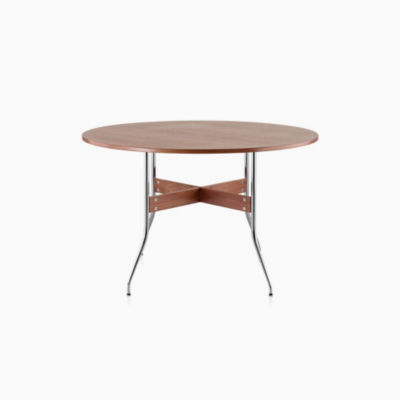 Nelson Swag Leg Dining Table with Round Top