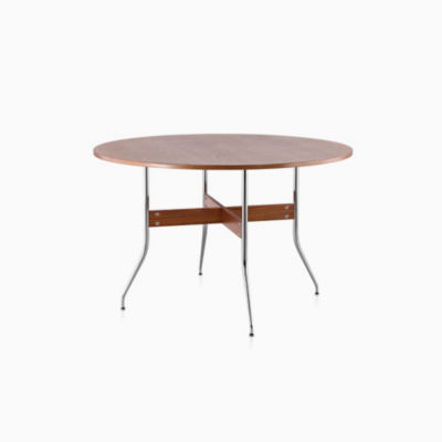 Nelson™ Swag Leg Round Dining Table