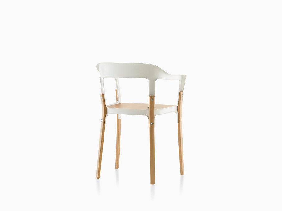 Magis steelwood chair herman miller for Magis steelwood