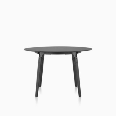 Magis Steelwood Table with Round Top