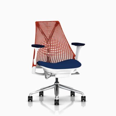... Eames® Molded Fiberglass Upholstered Dowel Leg Side Chair (DFSW)