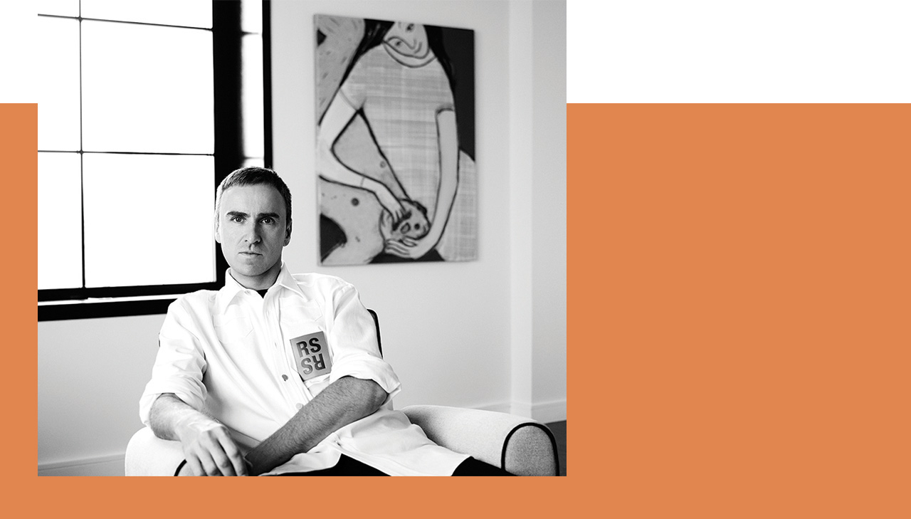CALVIN KLEIN 205W39NYC The Man Behind the Brand. Raf Simons makes his mark on the house that Calvin built