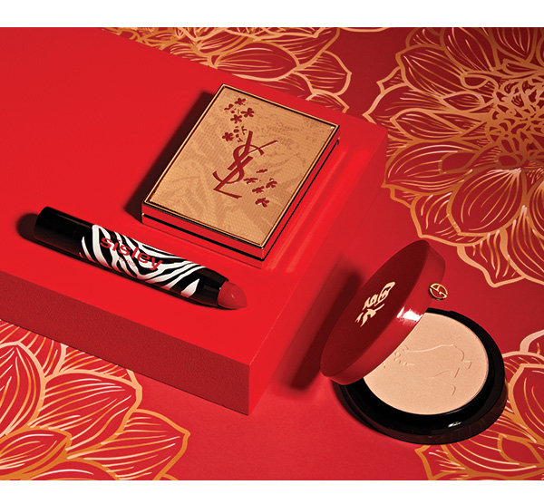 Sisley Paris Phyto Lip Twist Matte In Tango Yves Saint Laurent Hope And Joy Chinese New Year Special Edition Blush Volupte Giorgio Armani Limited Edition Chinese New Year Highlighting Palette