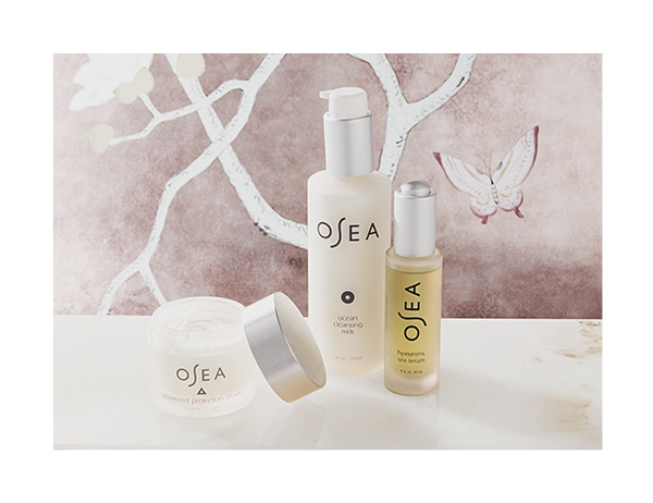 OSEA: Founded 20 years ago, OSEA delivers proven results without causing harm to our health or our environment. Their innovative anti-aging and blemish-reducing formulations feature certified organic, bioavailable seaweed infused with essential oils. SHOP NOW