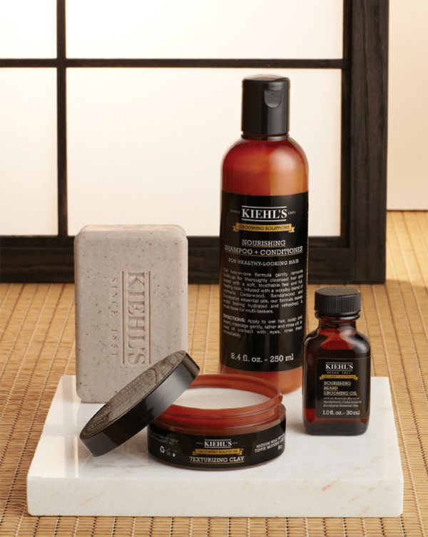 Kiehl's. From sleek to savage, wear your unique style from hair to toe with Kiehl's complete line of Grooming Solutions formulated with naturally efficacious ingredients