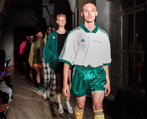 The Reinterpreter. Club kids rave again in Gosha Rubchinskiy's collaboration-filled SS18 collection