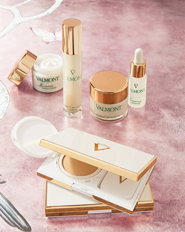 Valmont. From pure science to supple and radiant skin, discover the complete and long-lasting Hydration collection from the Swiss Cellular Cosmetics expert