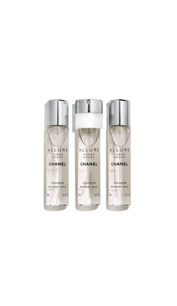 CHANEL - Cologne Refillable Travel Spray - Refill Set | HoltRenfrew.com
