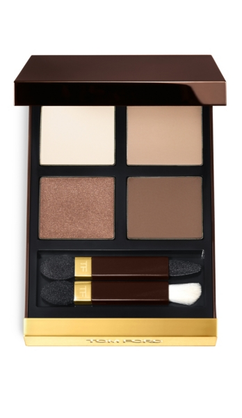 quad product review eyeshadow color swatches beauty tom tomford nude dip ford eye
