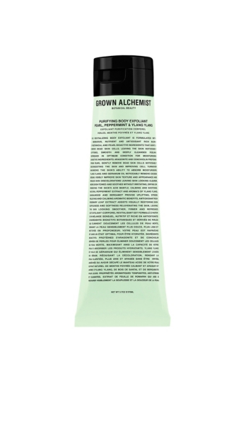 GROWN ALCHEMIST - Purifying Body Exfoliant: Pearl, Peppermint & Ylang Ylang | HoltRenfrew.com