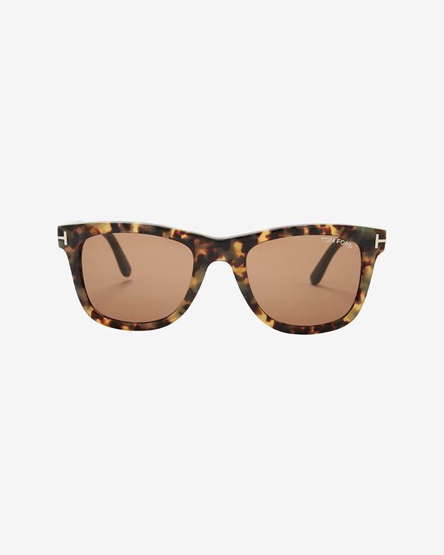 Tom Ford Leo Tortoise Wayfarer Sunglasses
