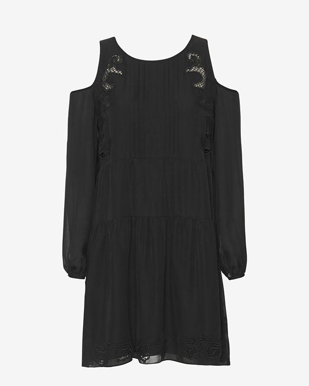 Thakoon Addition Cold Shoulder Mini Dress