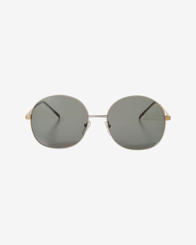 Illesteva Alina Silver Rim Sunglasses
