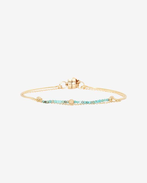 Dafne Turquoise Chain Bracelet