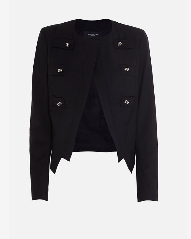Derek Lam Captains Jacket: Black
