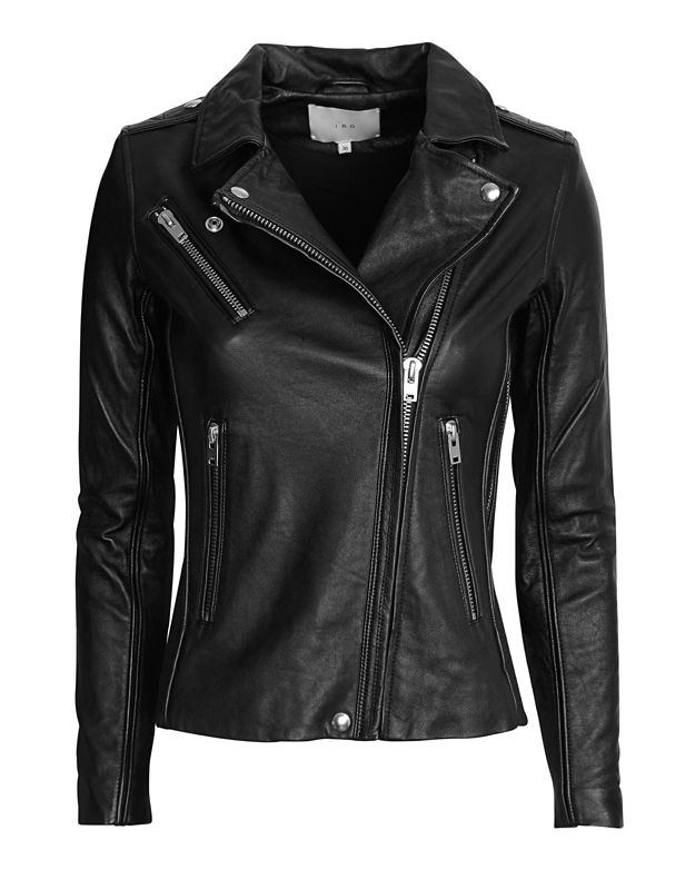 IRO EXCLUSIVE Tamie Belted Leather Jacket