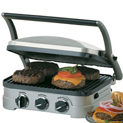 Cuisinart® Griddler + Removable Dishwasher-Safe Plates