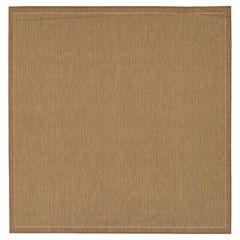 Couristan® Saddle Stitch Indoor/Outdoor Square Rug