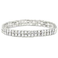 Vieste® Crystal Stretch Bracelet