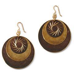 Decree® Disc Earrings