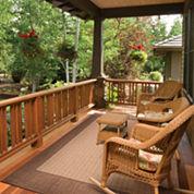 Couristan® Checkered Field Indoor/Outdoor Rectangular Rug
