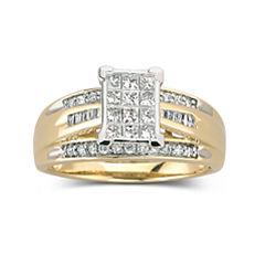1/2 CT. T.W. Diamond Bridal Ring 10K Gold