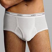 Hanes® 6-pk. Cotton Tagless Comfort Flex® Waistband Full Rise Briefs