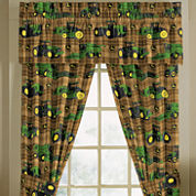 John Deere Rod-Pocket Tailored Valance