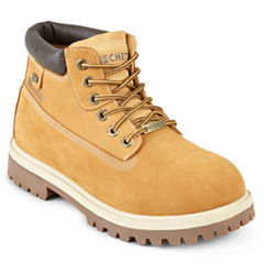 Skechers® Verdict Mens Leather Work Boots