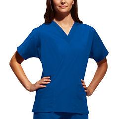 Cherokee® Workwear® Womens V-Neck Top