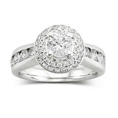 True Love, Celebrate Romance® 2 CT. T.W. Certified Diamond Engagement Ring