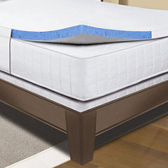 Sleep Innovations® Gel Memory Foam Mattress Topper