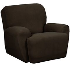 Maytex Smart Cover® Reeves Stretch 3-pc. Plush Recliner Slipcover