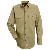 Red Kap® Deluxe Heavyweight Cotton Shirt–Big & Tall