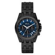 Relic® Mens Black & Blue Chronograph Watch ZR66035