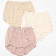 Underscore® Cotton Briefs, Tailored Panties 3 Pack