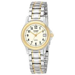 Citizen® Womens Two-Tone Watch EU1974-57A