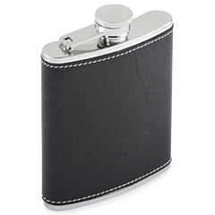 Houdini Faux Leather Wrap Flask