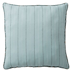 Home Expressions Fairview Square Solid Decorative Pillow