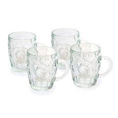 Beer Tankards Glass Set