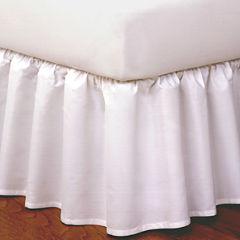Ruffled Bedskirt & Shams